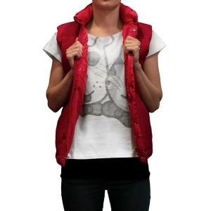 T-shirt Husse Rita, krátky rukáv, šedý motív